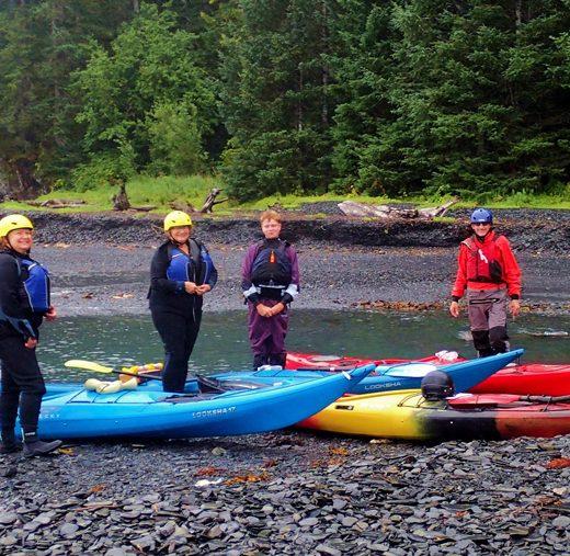 Kayak Alaska Instruction
